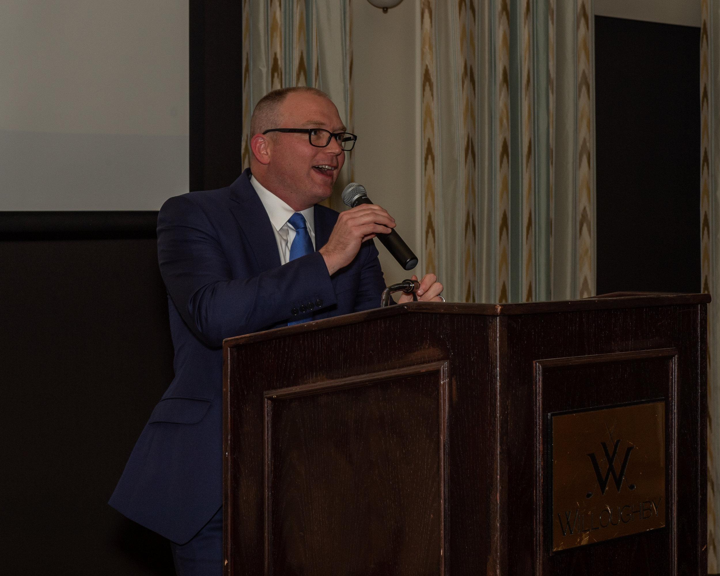 2018 President Todd Norbraten