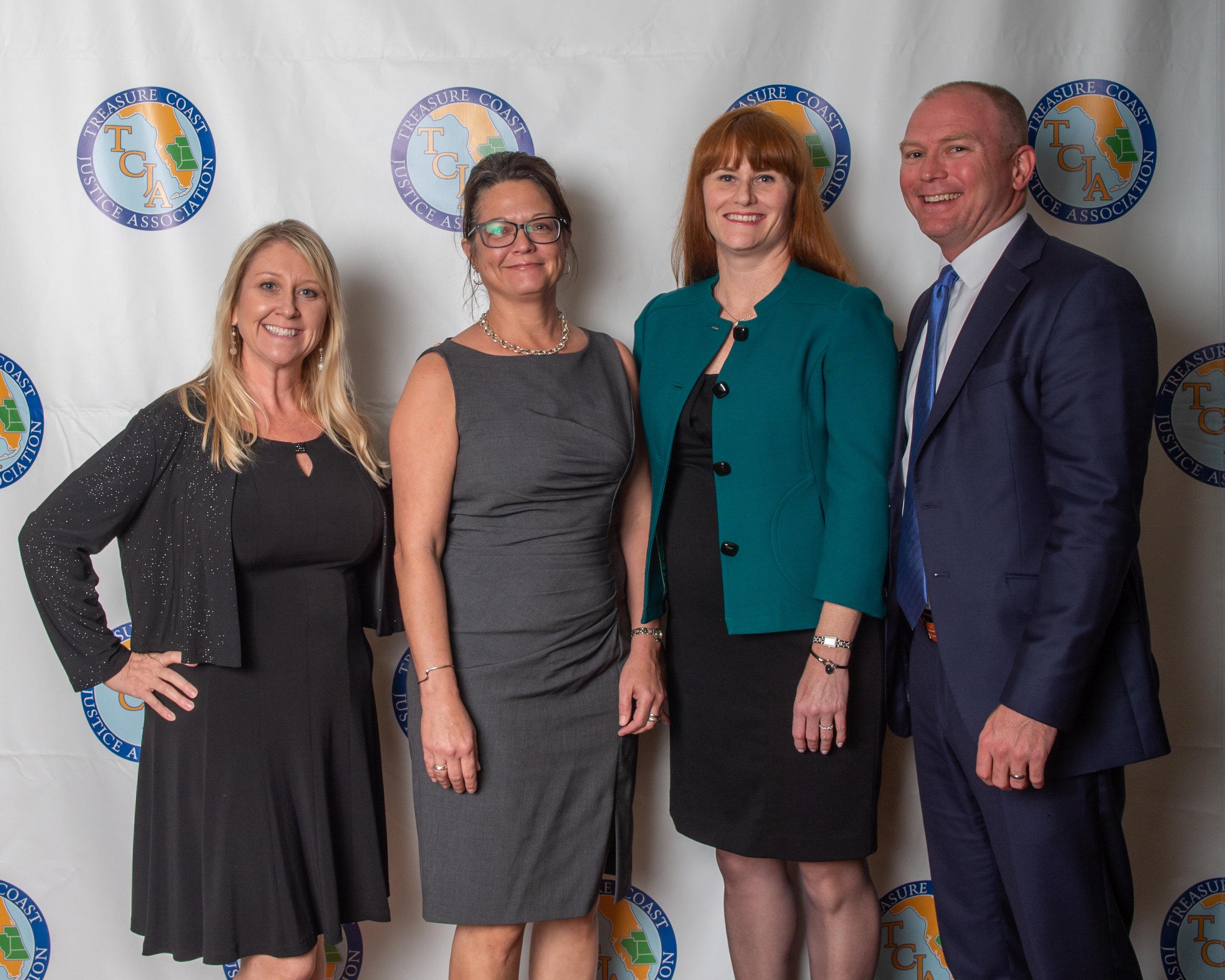 Denise Krebs, Amy Stamm, Keri Norbraten and Todd Norbraten