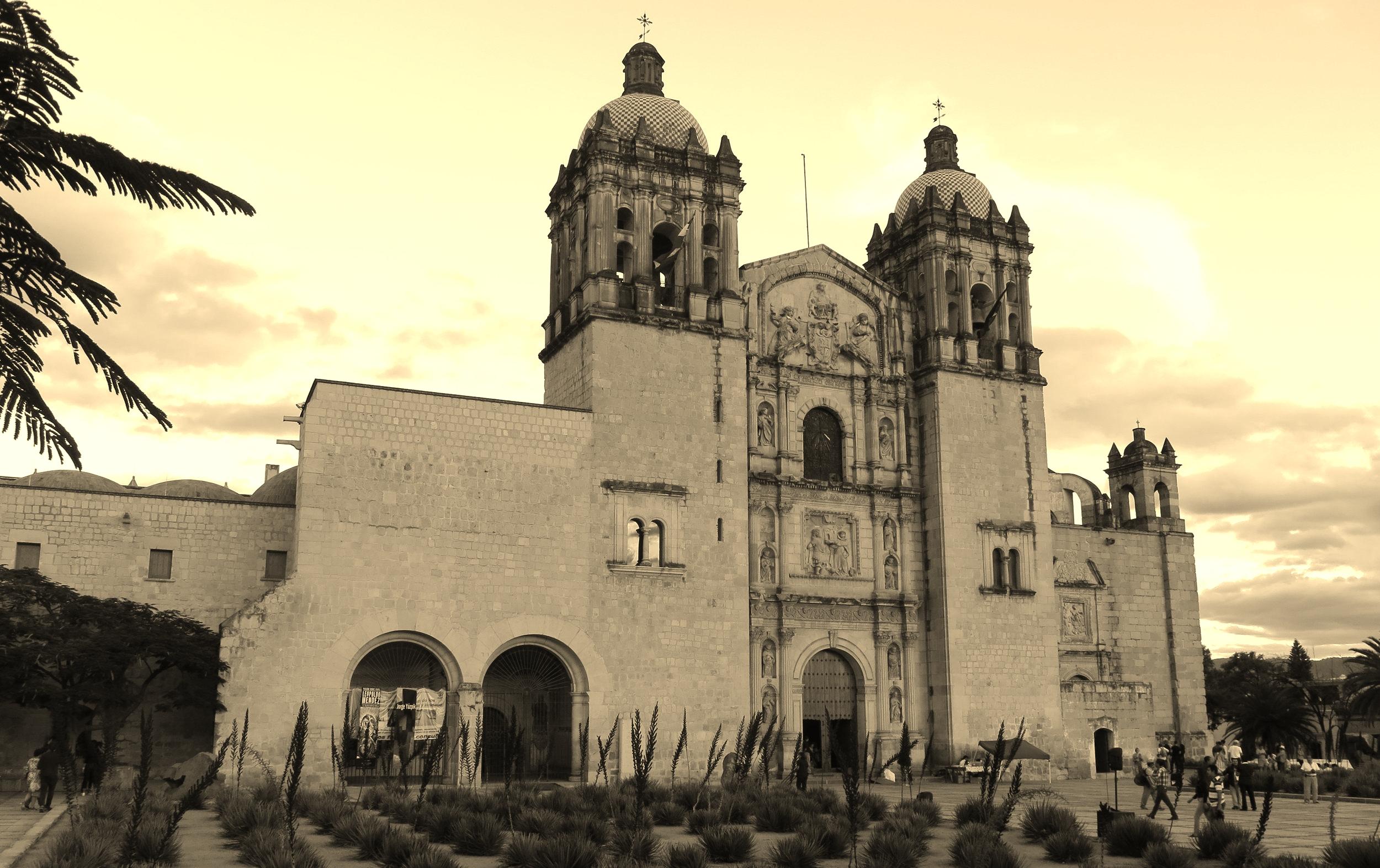 Zocalo, Oaxaca City, Mexico