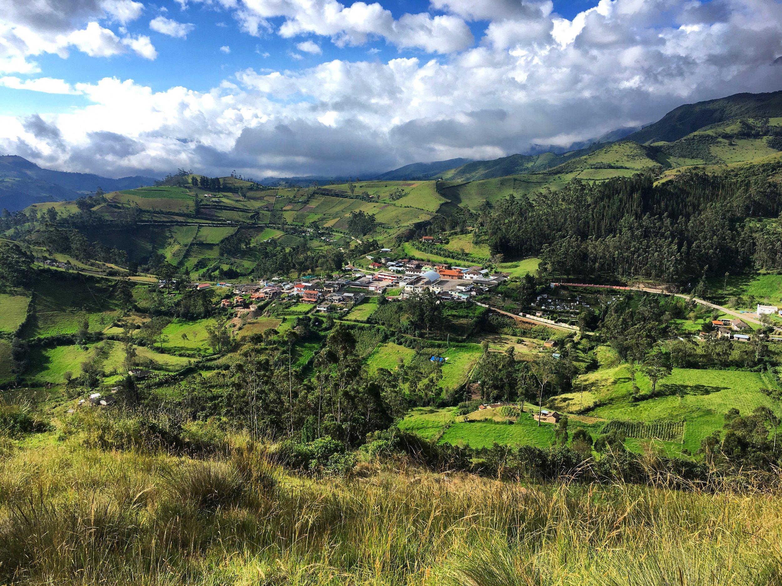 Isinlivi, Cotopaxi, Ecuador