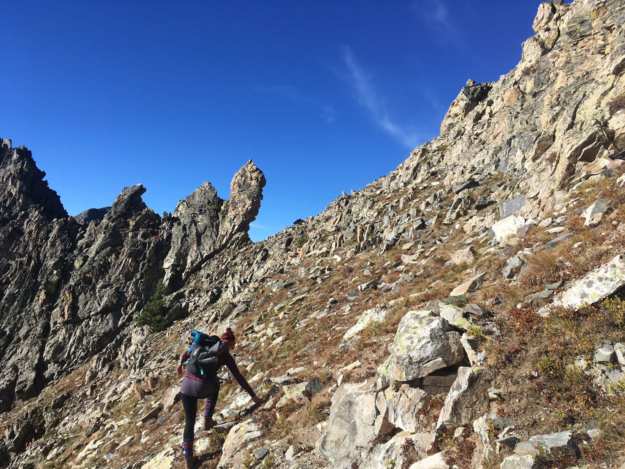 10-mile Traverse, Summit County, Colorado