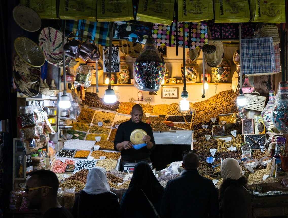Night Market, Marrakech, Morocco