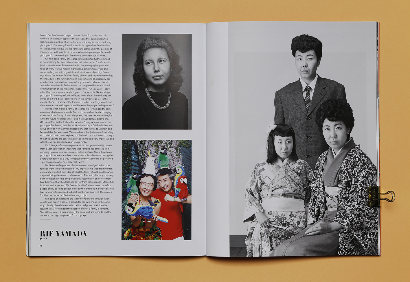 British Journal of Photography Issue #7872: Ones To Watch -