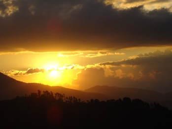 Julia randall blog post self doubt sunset