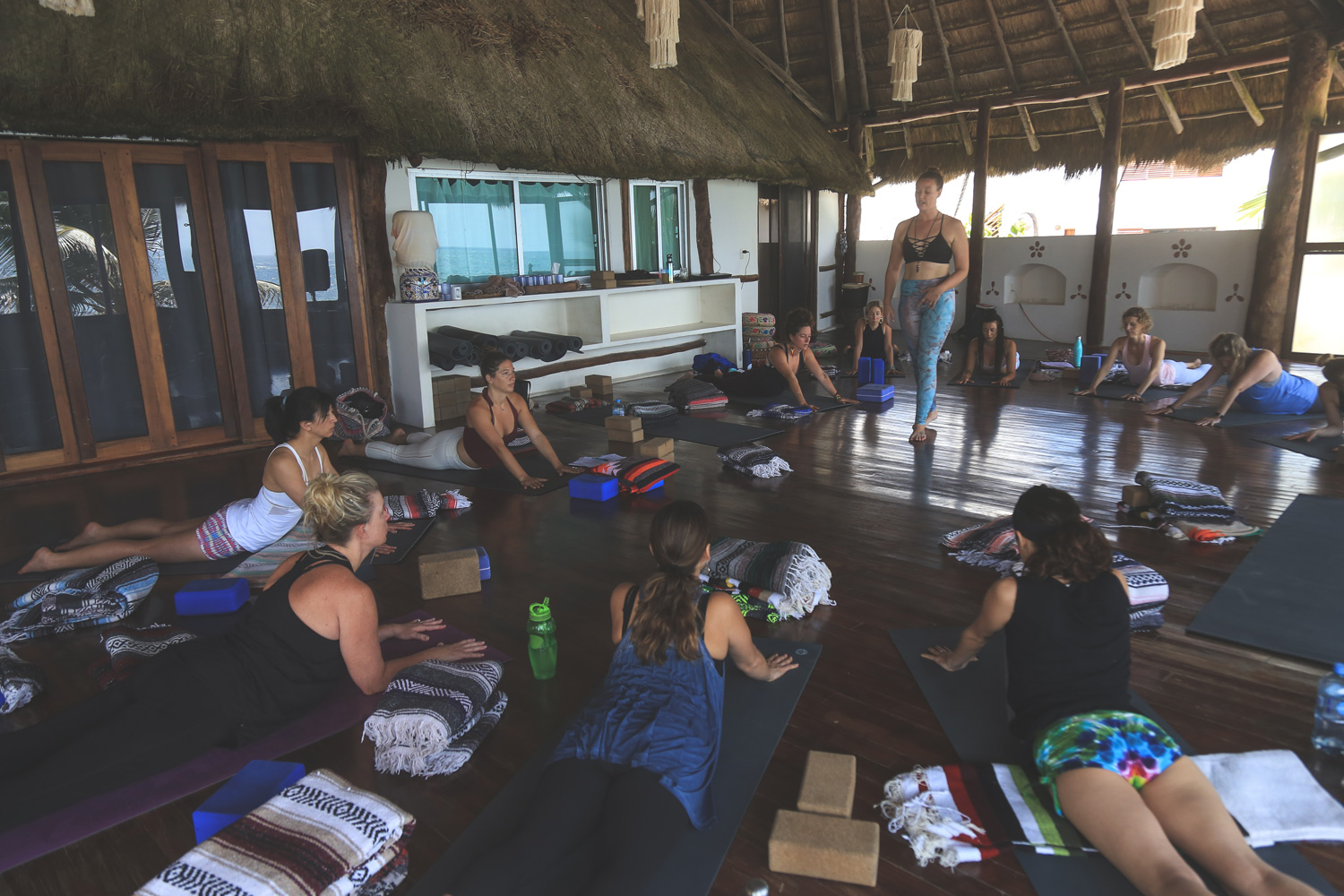 5 Elements Yin Yoga Teacher Training in Tulum | Photos taken by:  Stephanie Mignacca