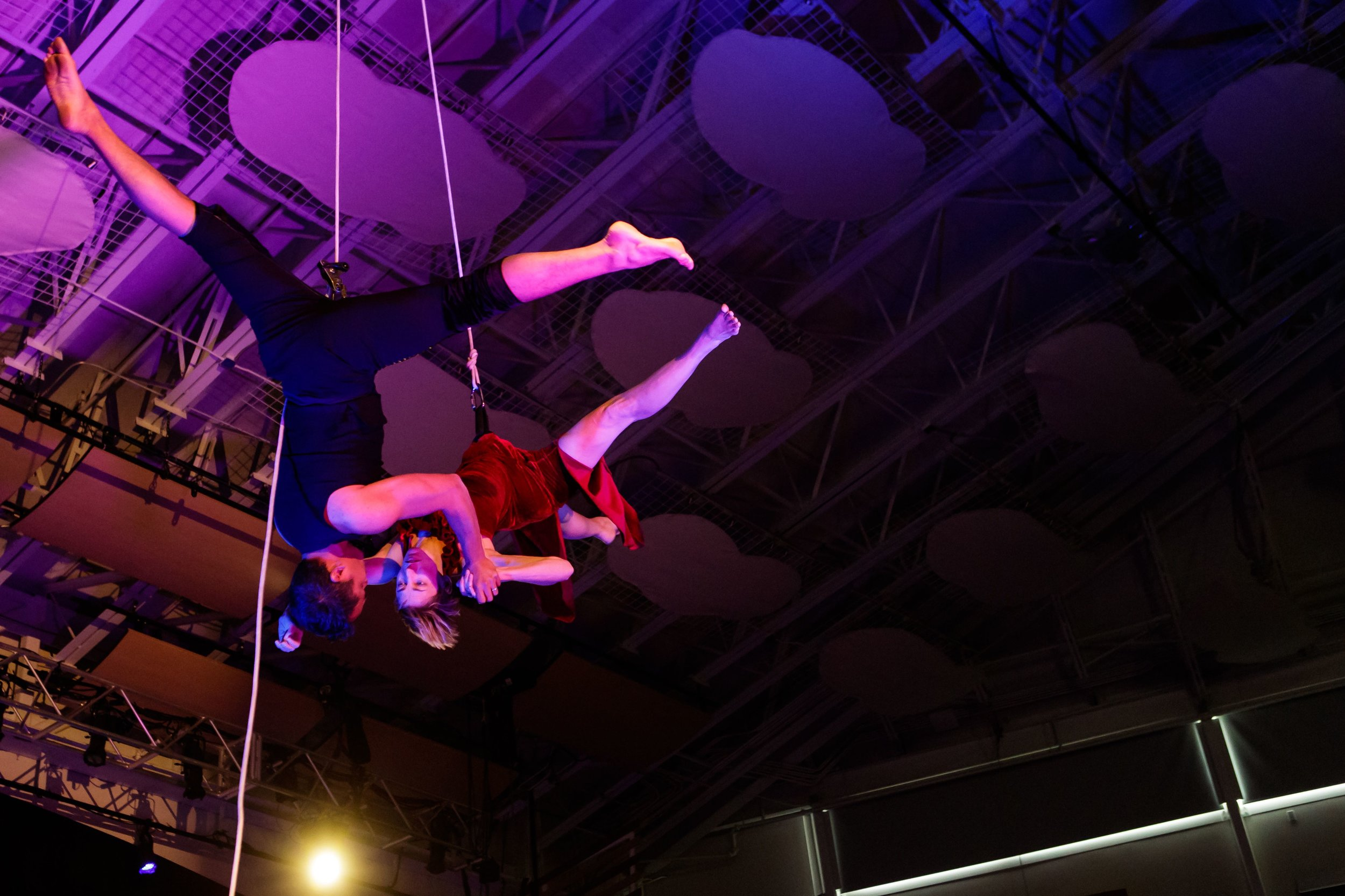 Bandaloop - Interior vertical dance | Breckenridge 2019