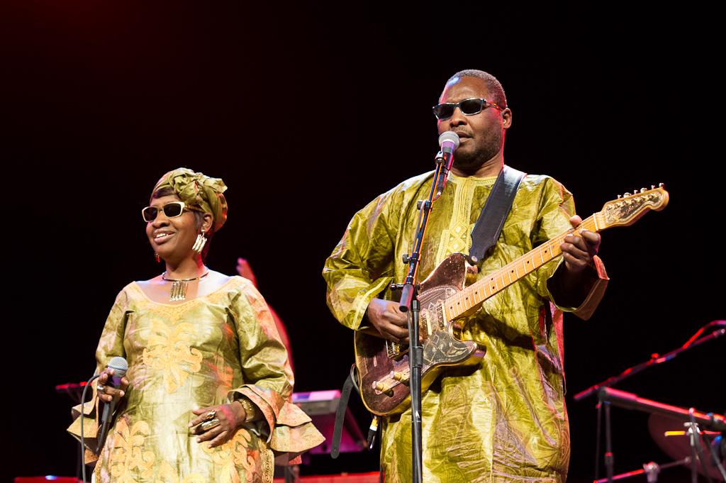 Amadou & Mariam - Ann Arbor 2013