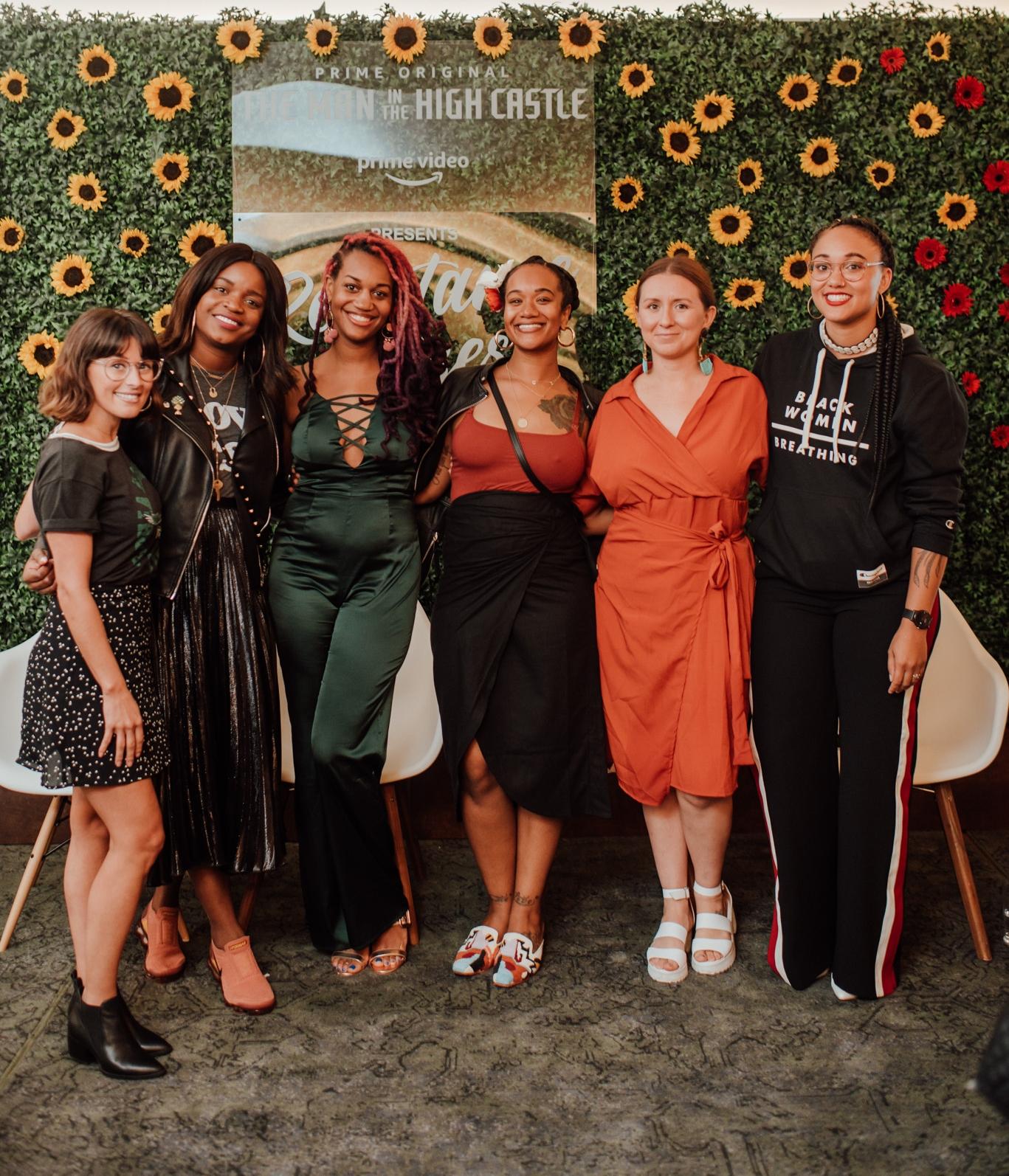 Resistance Rising Panelists & Curator - From Left to right: Brittany Packnett, Brandi Chantalle, Alex Elle, Katalina Mayorga, Randi Gloss