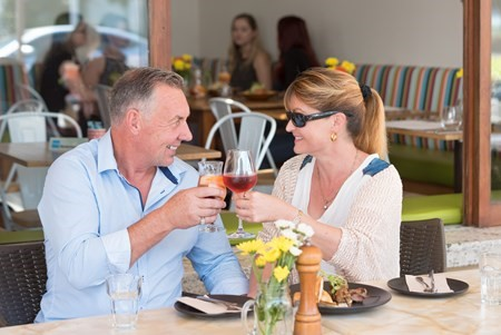DINING AND DRINKING  Dine along The Promenade and enjoy spectacular views of Rangitoto and the beautiful Auckland Harbour. Mission Bay is home to a range of international flavours and a great mix of local favourites. Stop by or check out our  Places to Go online.