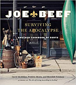 I recently received a free copy of  Joe Beef: Surviving the Apocalypse: Another Cookbook of Sorts  from    Appetite by Random House  to review.