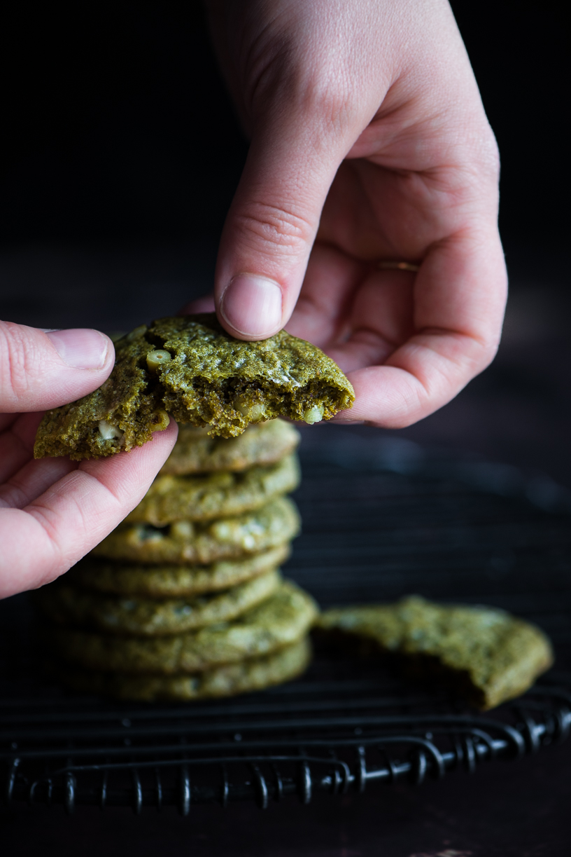 Matcha Tea Cookies