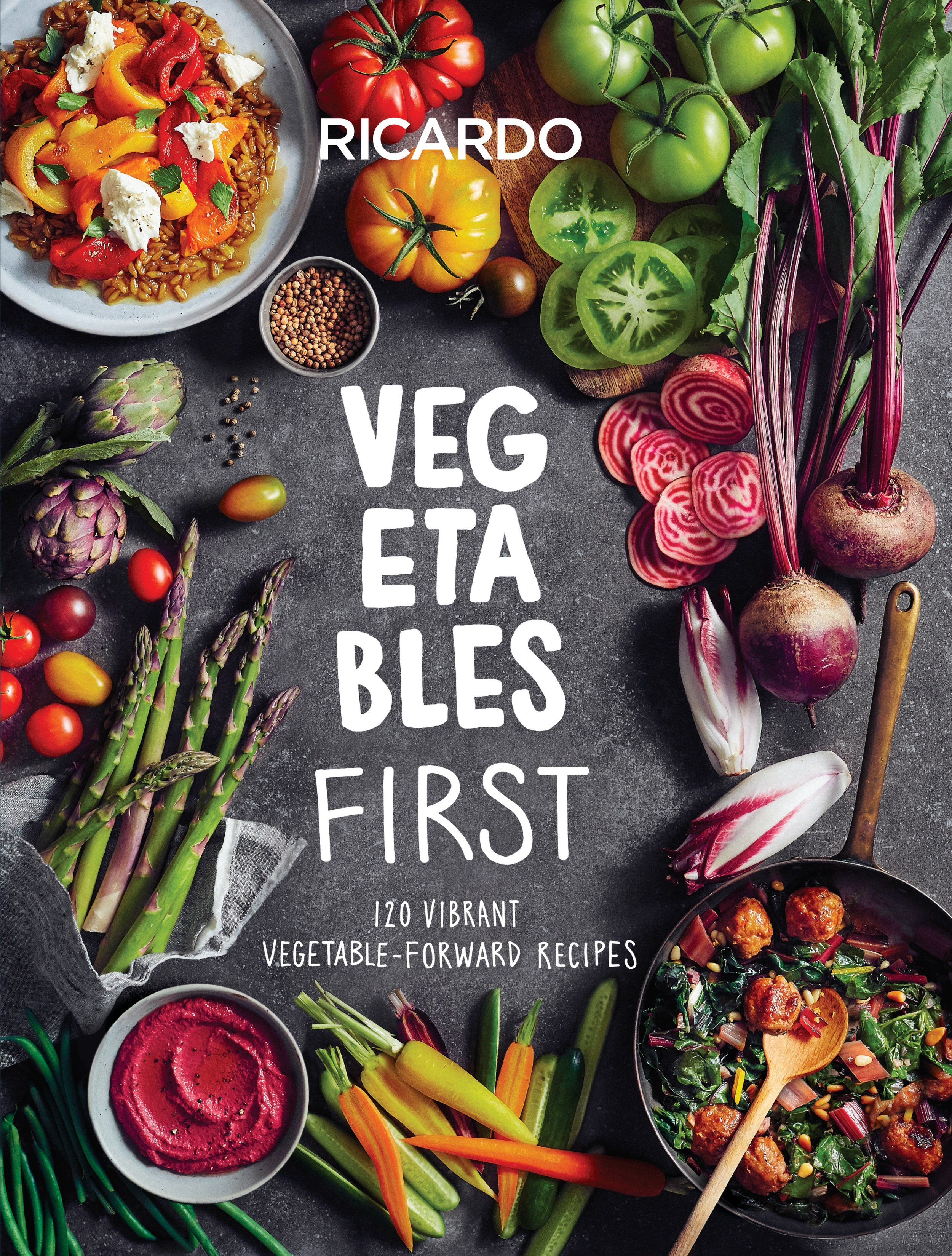 I recently received a free copy of Vegetables First: 120 Vibrant Vegetable - Forward Recipes by Ricardo Larrivée from  Appetite by Random House  to review.