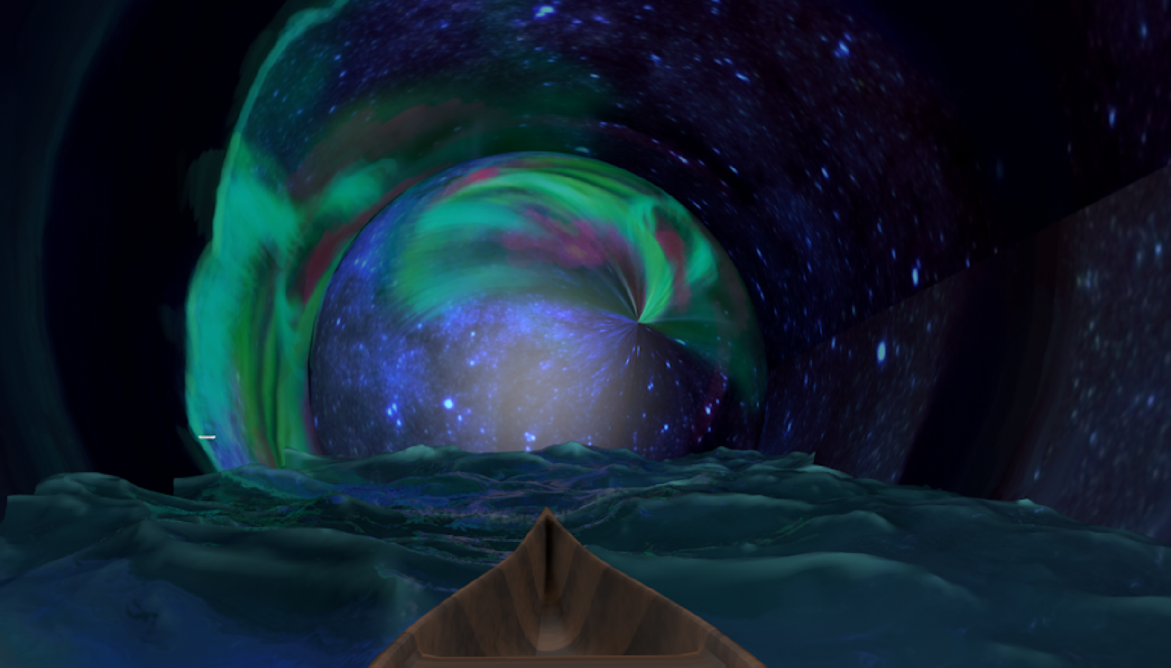 Warrior's Tunnel - The Northern Light is behind the mountain! Start your Warrior Journey from here!