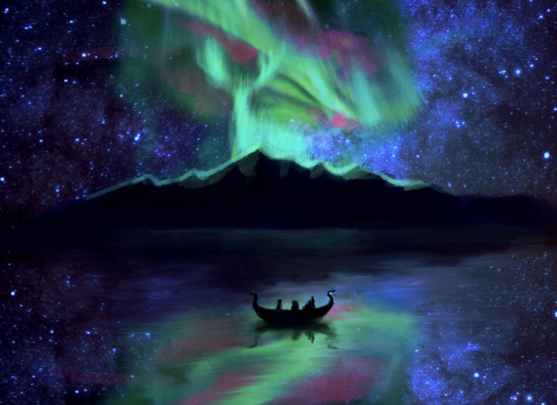Origin of the Aurora - Origin of the Aurora warriors finally reached the origin of the aurora leaded by their spirit deer.