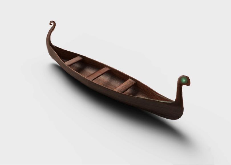 3D Modeling - Canoe design for the warriors