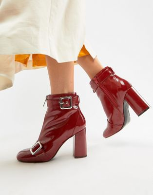SS19 Patent Trend- Patent Red Boots