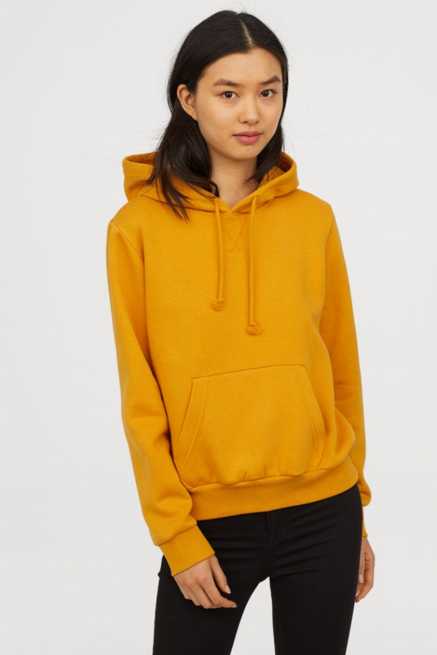 SS19 Trends- Bold Hues Mustard Sweatshirt