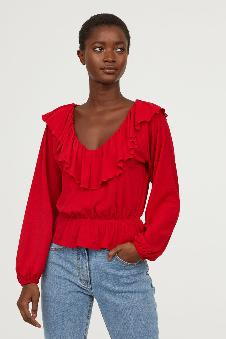 SS19 Trends- Romantic Dressing Ruffled Top
