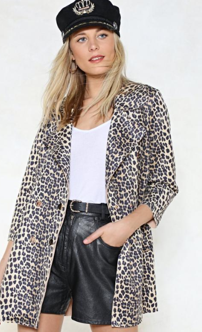 SS 19 Trends- Unconventional Suiting Leopard Jacket
