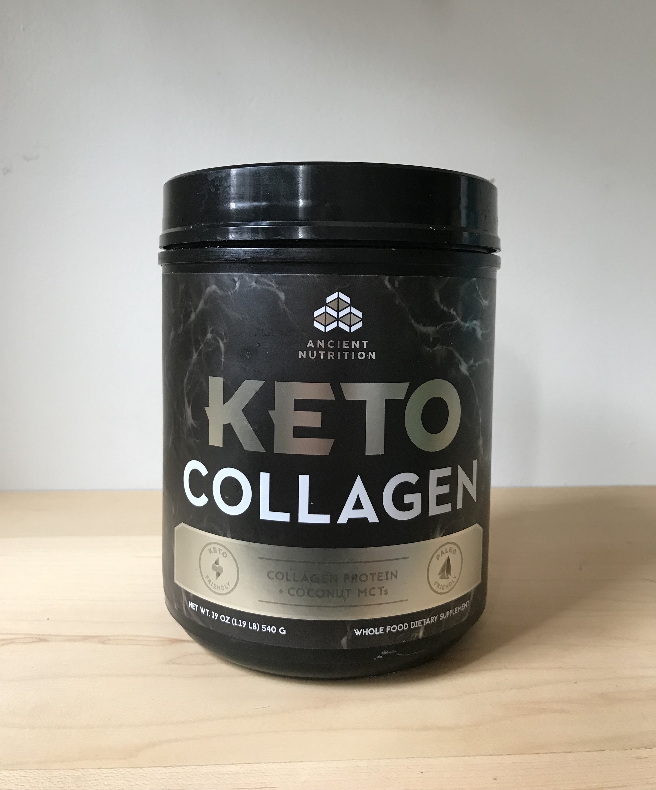 Ancient Nutrition KETO Collagen + Coconut MCTs $49.95