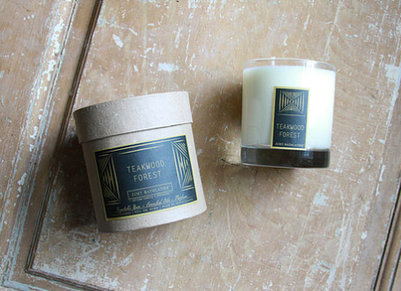 Teakwood Forest Black Label Rustic Candles