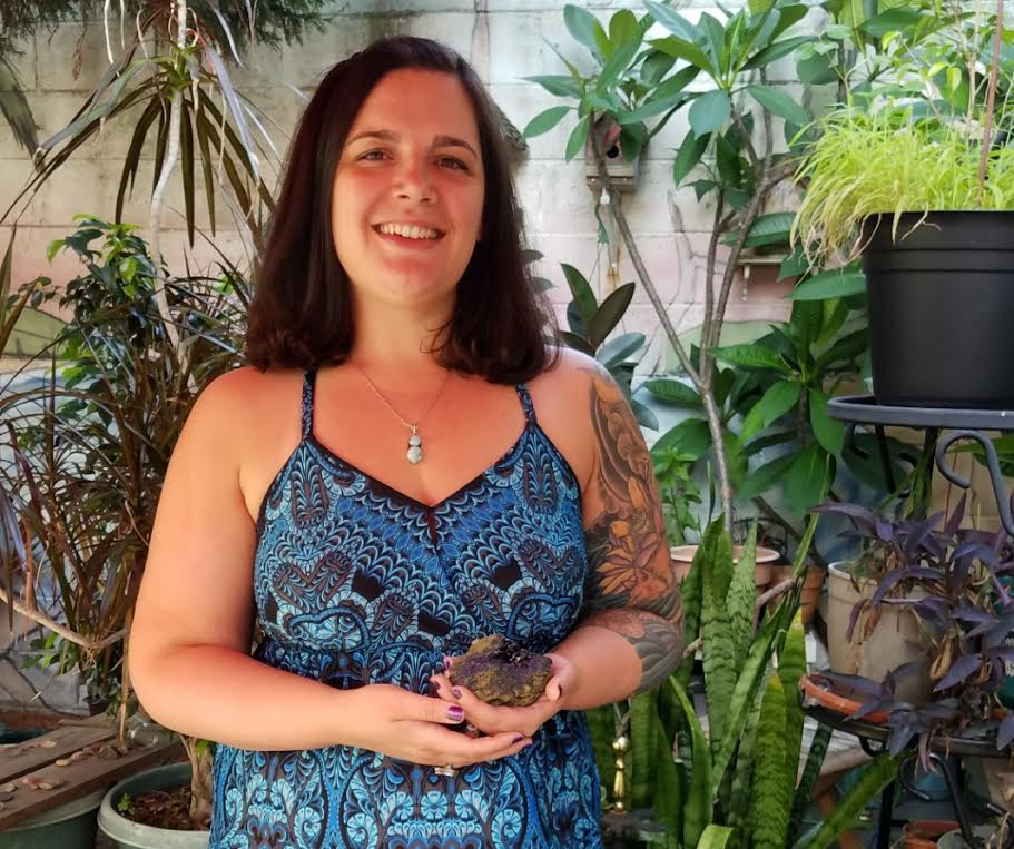 Christel Alberez is a certified Crystal Resonance Therapist, and Circle Caller in Philadelphia and cofounder of Ritual Moon.
