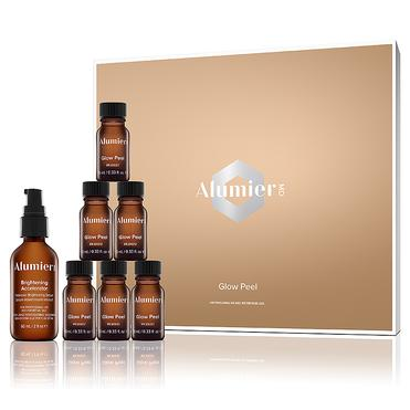 Chemical Peels - The AlumierMD Peel Treatments are the ultimate in customized peel experiences to help your specific skin concerns. The variety of treatments have a unique complex of ingredients that decrease the visible signs of aging including fine lines, wrinkles and hyperpigmentation, like age spots, discoloration and uneven skin tone. AlumierMD Peels also target acne by unclogging pores and calming irritation and redness.This unique experience includes an exfoliating peel treatment and brightening enhancers, followed by targeted treatment serums, which will reveal more radiant, soft and luminous skin.