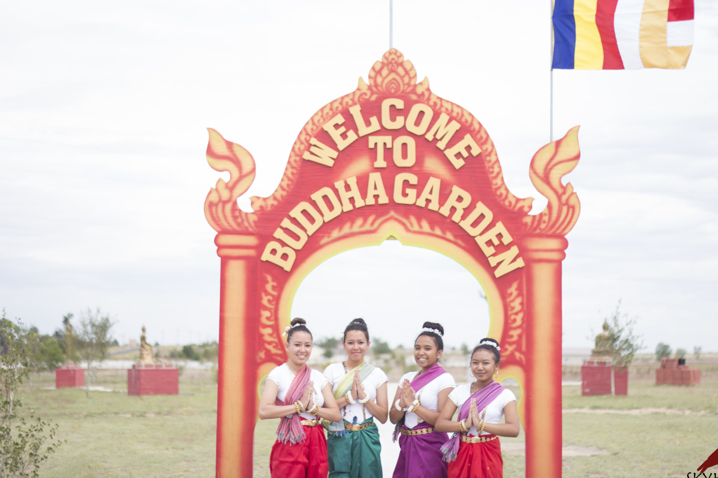 SOCCA dancers were asked to perform at the opening event for the new Laos temple in Brighton, CO