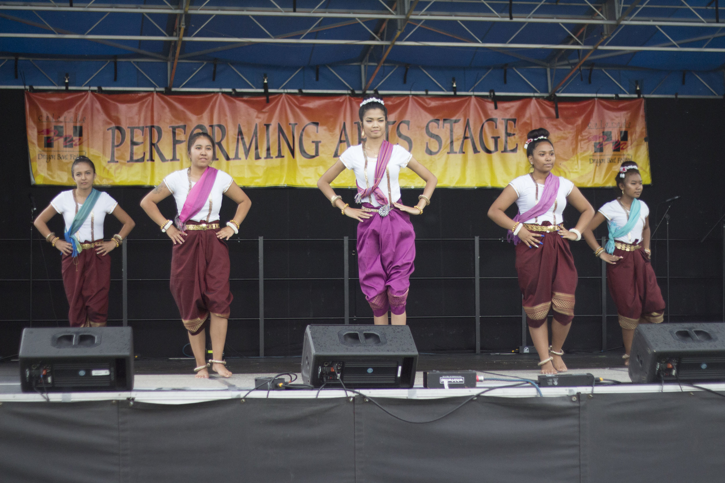 SOCCA performing at the Colorado Dragon Boat Festival