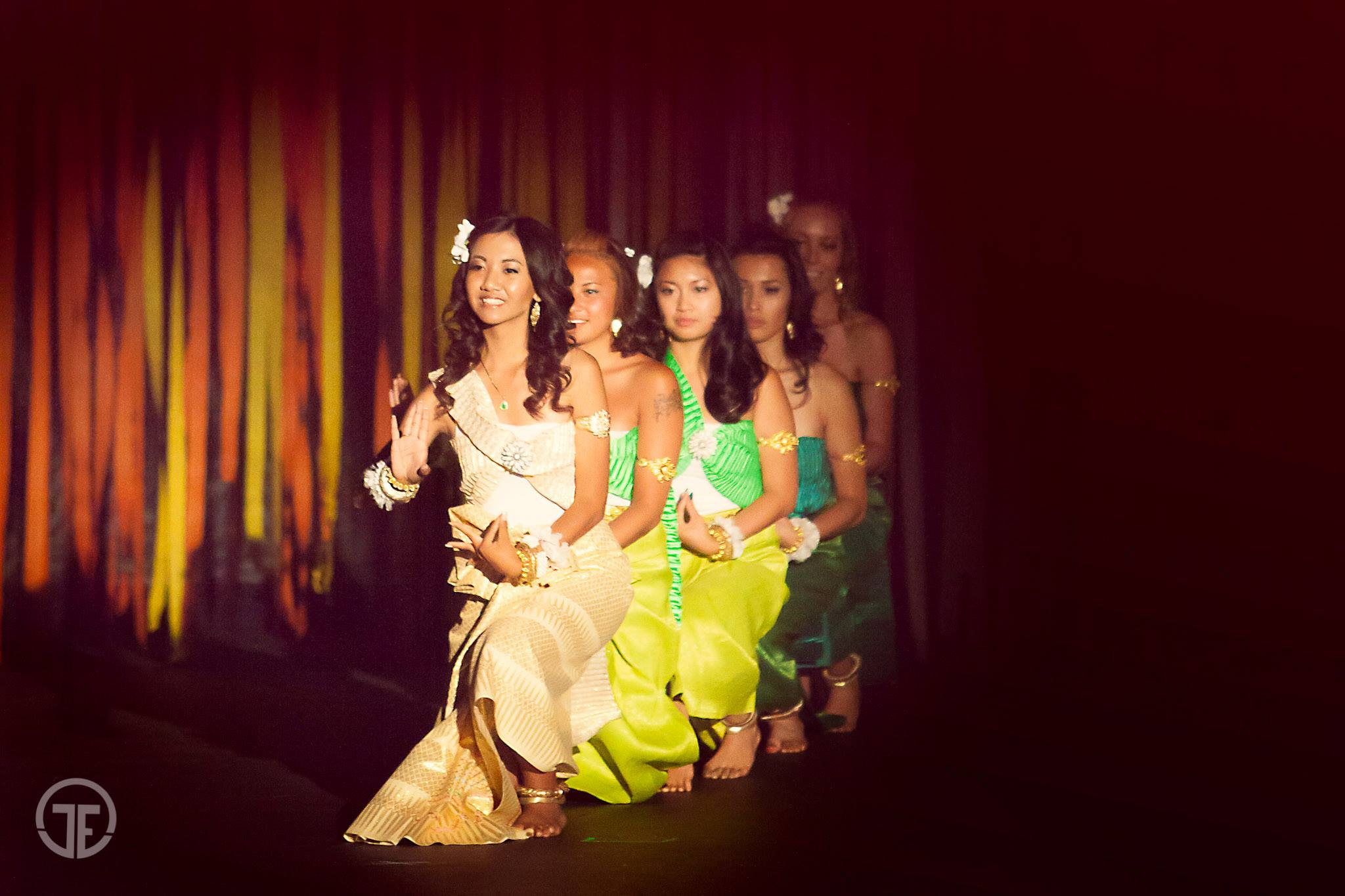 Jennifer, one of the dancers from SOCCA, expressed her talents in the Miss Asian American Colorado finale show with traditional Cambodian dancing