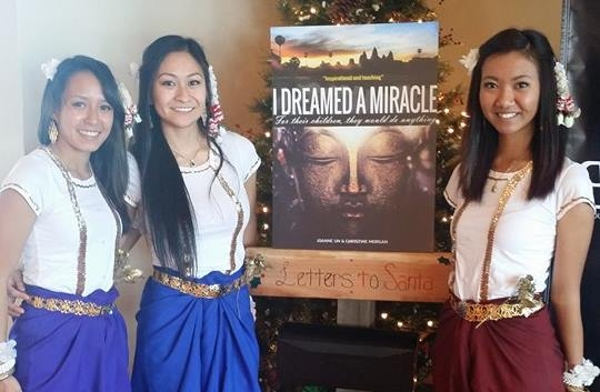 "SOCCA dancers performing a dance for the book release of a tear-dropping story called: ""I Dreamed a Miracle""."