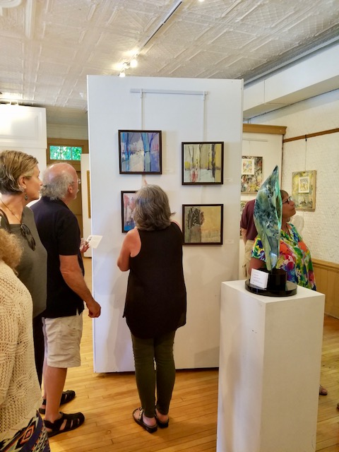 Exhibition Gallery during 2018 Season,  photo by Susan Sabino  Members' Exhibition: August 3-18, 201 9