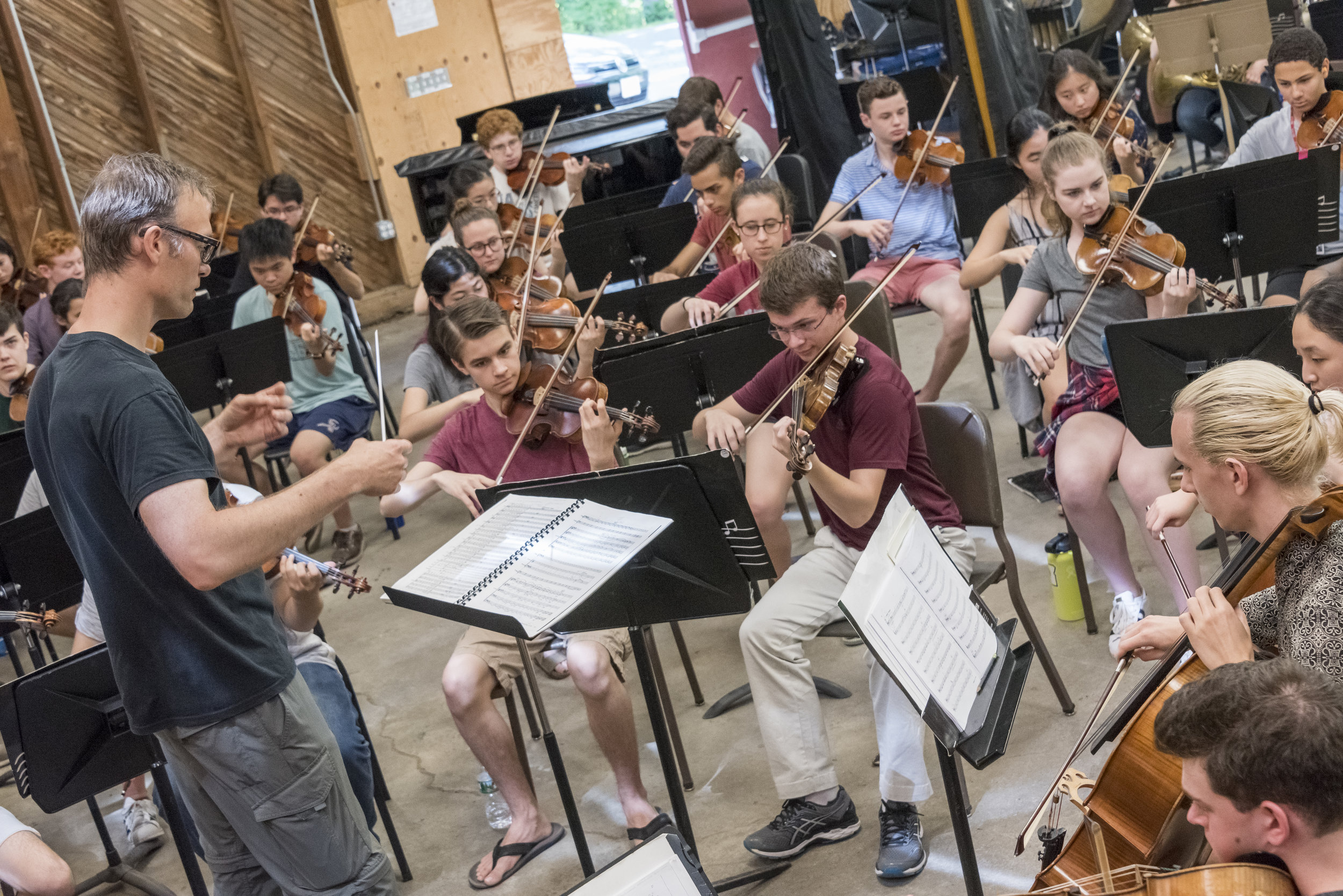"""Students from Boston University Tanglewood Institute (BUTI) Young Artists Programs present a concert of varied works"""