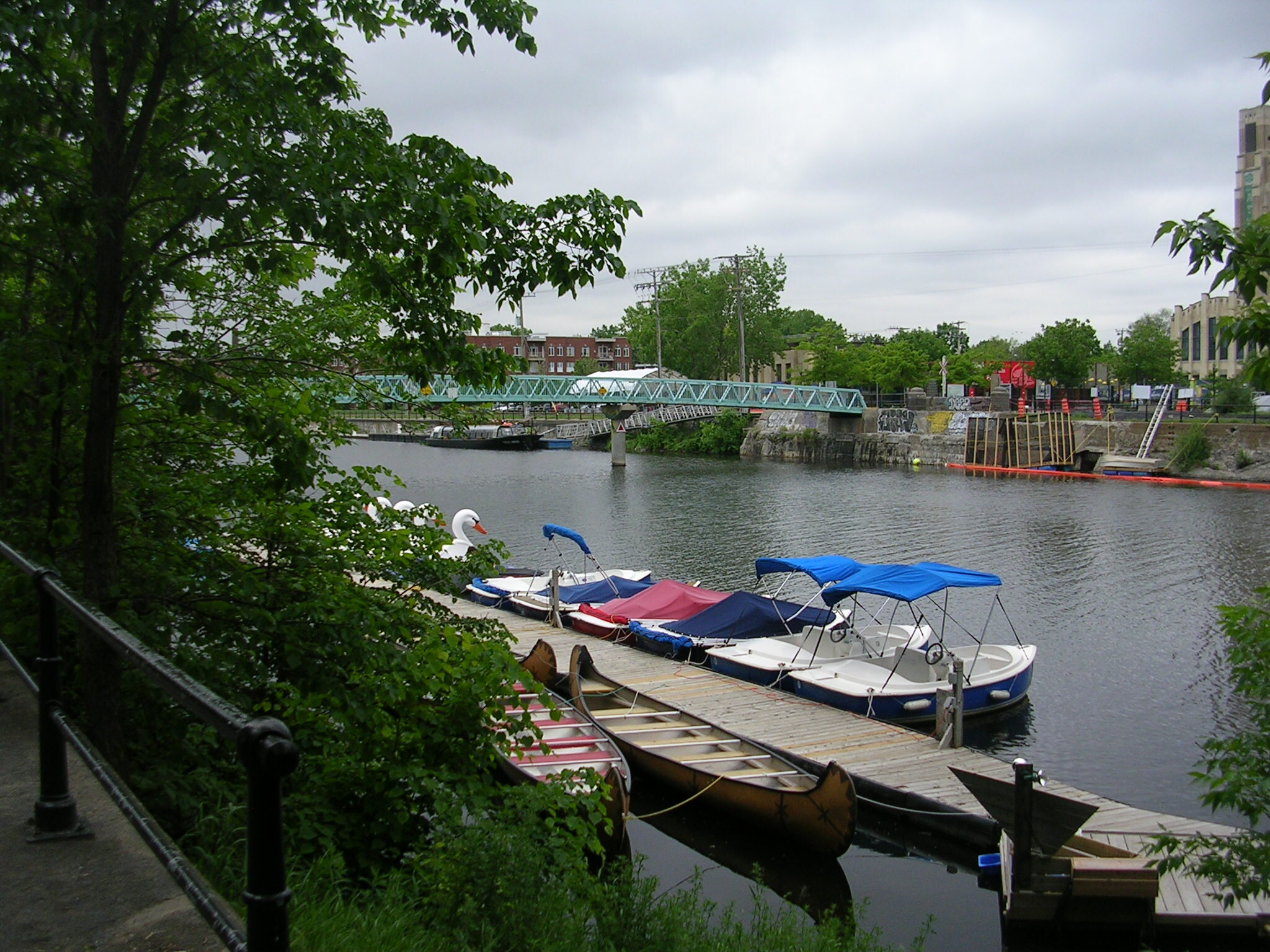 Lachine Canal and Marche Atwater, home away from home!