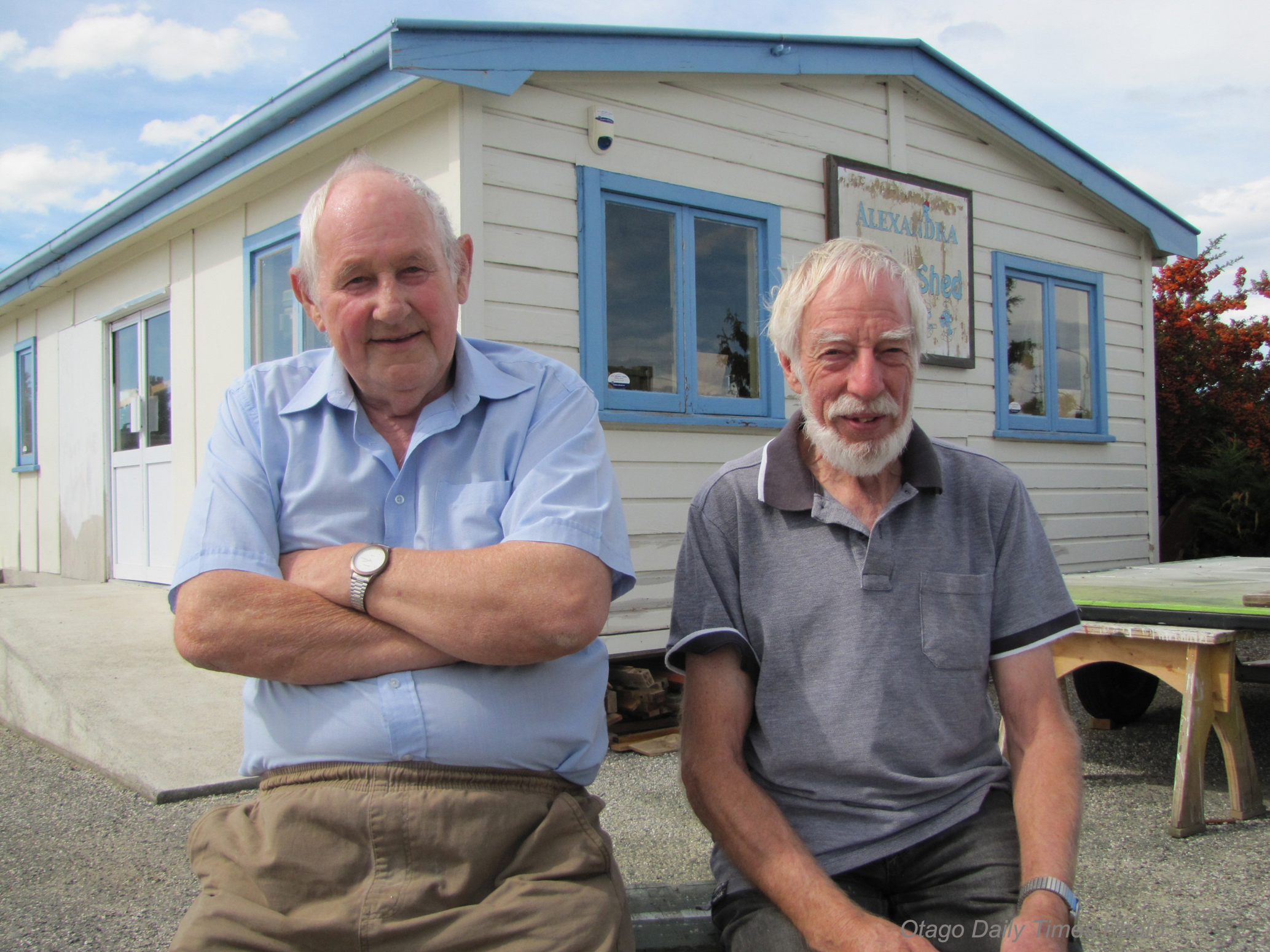 Copy of Alexandra Men's Shed receive funds towards a new