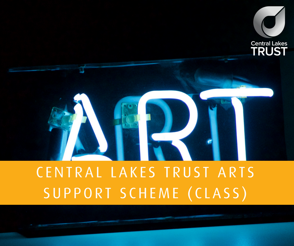 The purpose of the Central Lakes Arts Support Scheme, known as CLASS, is to increase, at both a local and grass roots level, participation in the arts and the range and diversity of arts available to the community. The maximum amount that can be funded through this Scheme is $2,000 per organisation/group/project/event  > CLASS Guidelines & Application Form