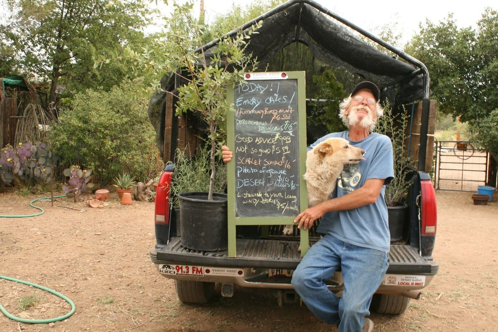 Cochise County - In Cochise County, catch Petey Mesquitey at any of the various farmers markets and popup sales he may be attending, especially the Bisbee Farmers Markets on Saturdays (check our calendar for all his sales). He only has so much room in his truck and has to travel pretty far for each sale so be open to what he offers, because he always brings cool stuff.