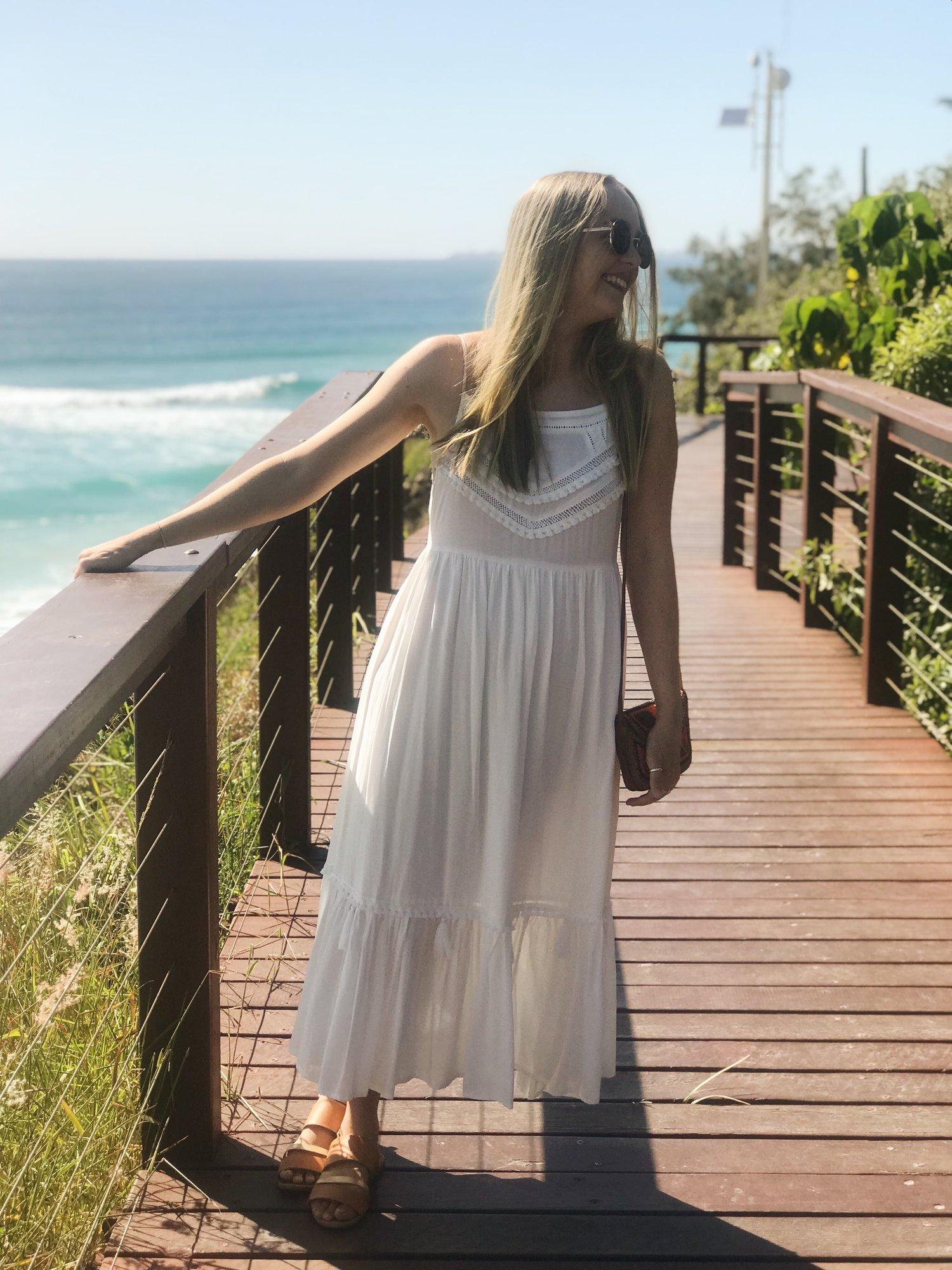 Kivari dress worn by Cleo Massey