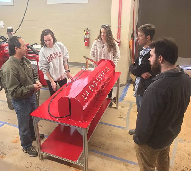 On #mentormonday, we'd like to give a shoutout to Riley Wicker and the Snowhill Engineering Team! Not only have they assisted us in analysis and design of SRAD motors; they also donated a custom hydrostatic test stand for the future as we continue to develop and test our propulsion and structural systems for @base11stem ! #base11spacechallenge #sponsorshoutout @univofalabama