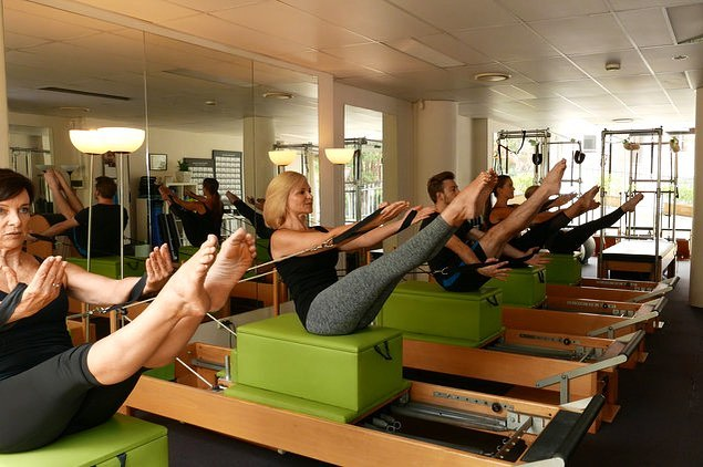 Call us to try a class today!  Work that core team!!! #balmainbodies #pilates #teaser