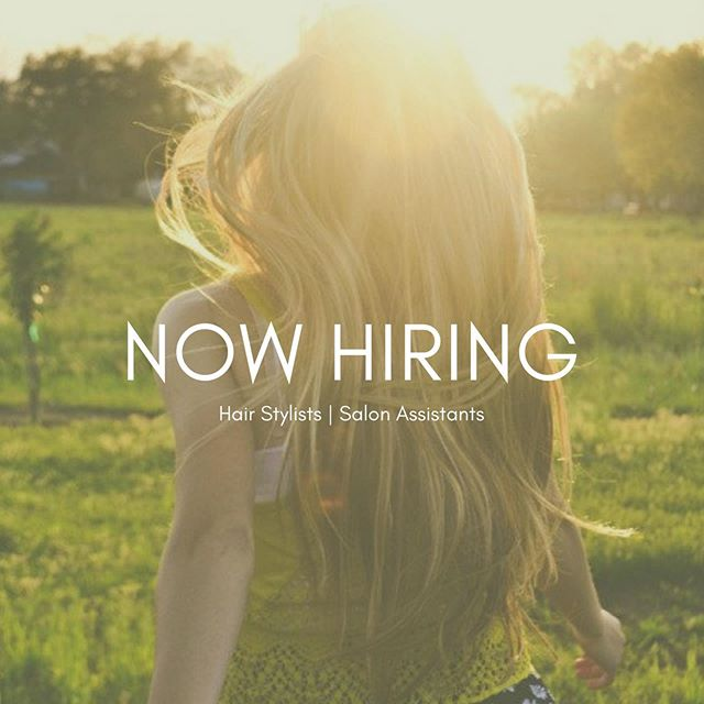 If you or someone you know are looking for a career in beauty, Raymond Robert Salon is now hiring! We are looking for passionate individuals with a hunger to learn and grow. We are currently looking to hire Hair Stylists and Assistants. If interested, please email your resume to raymondrobertsalon@gmail.com or send us a DM 😊 #raymondrobertsalon