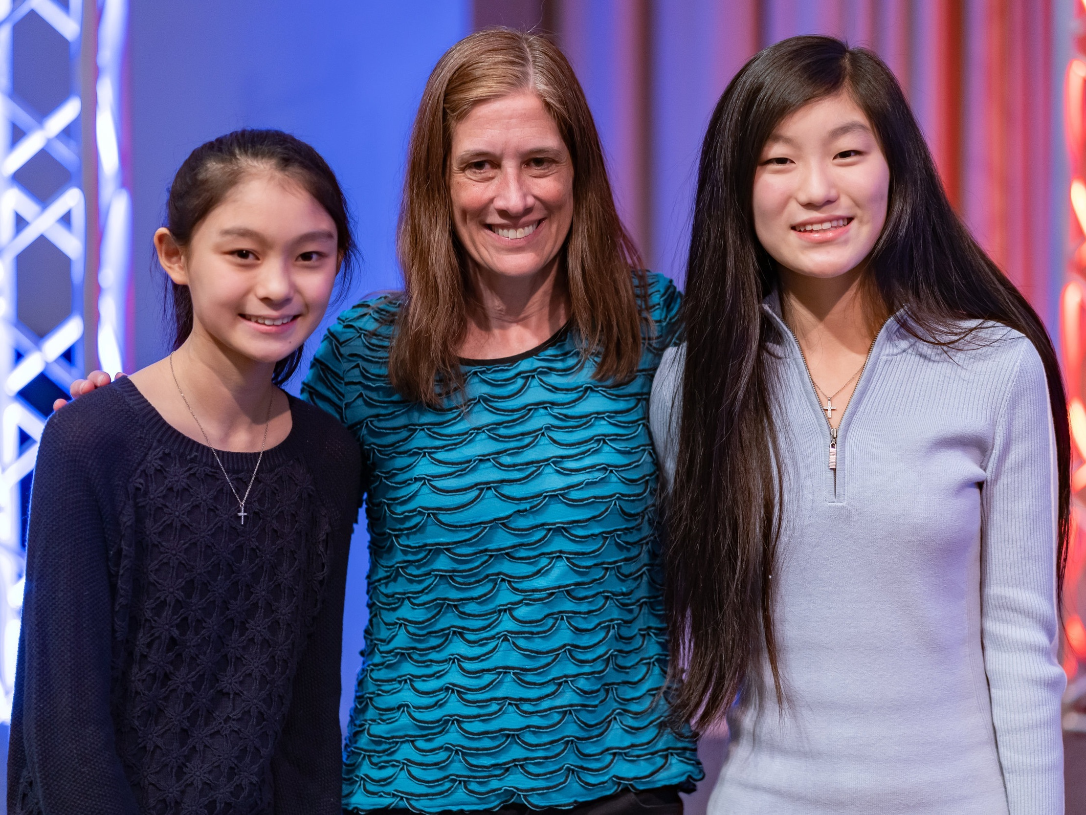 Radiant Youth Perception Project - Jessica and Joanne Xu with Nancy Jeggle