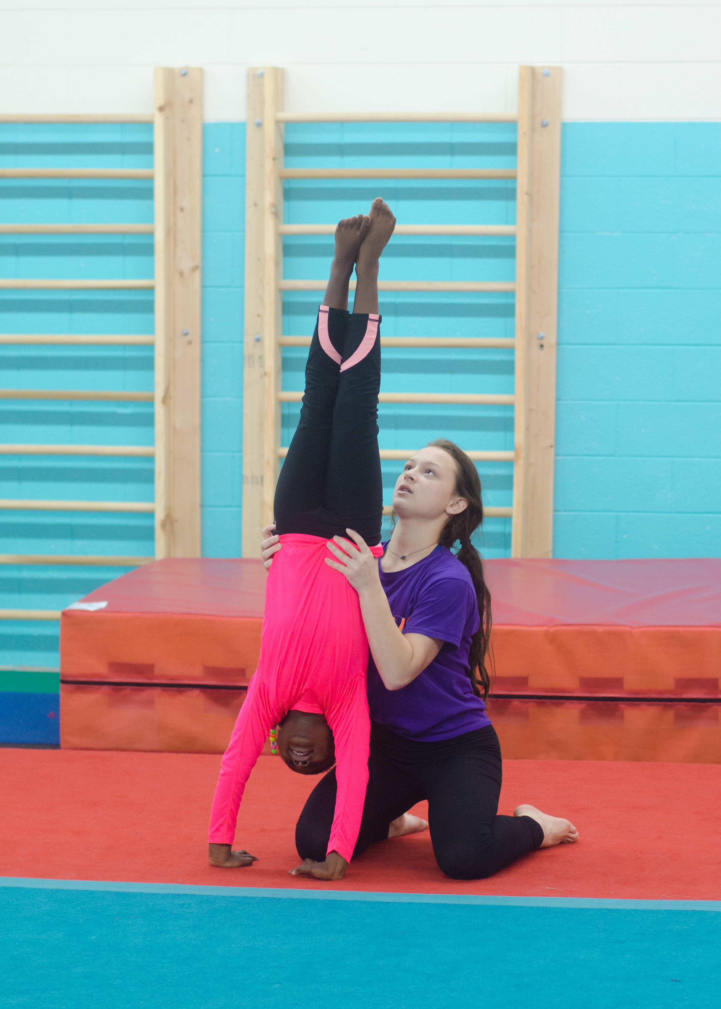 Gym Champs Perfecting Handstands