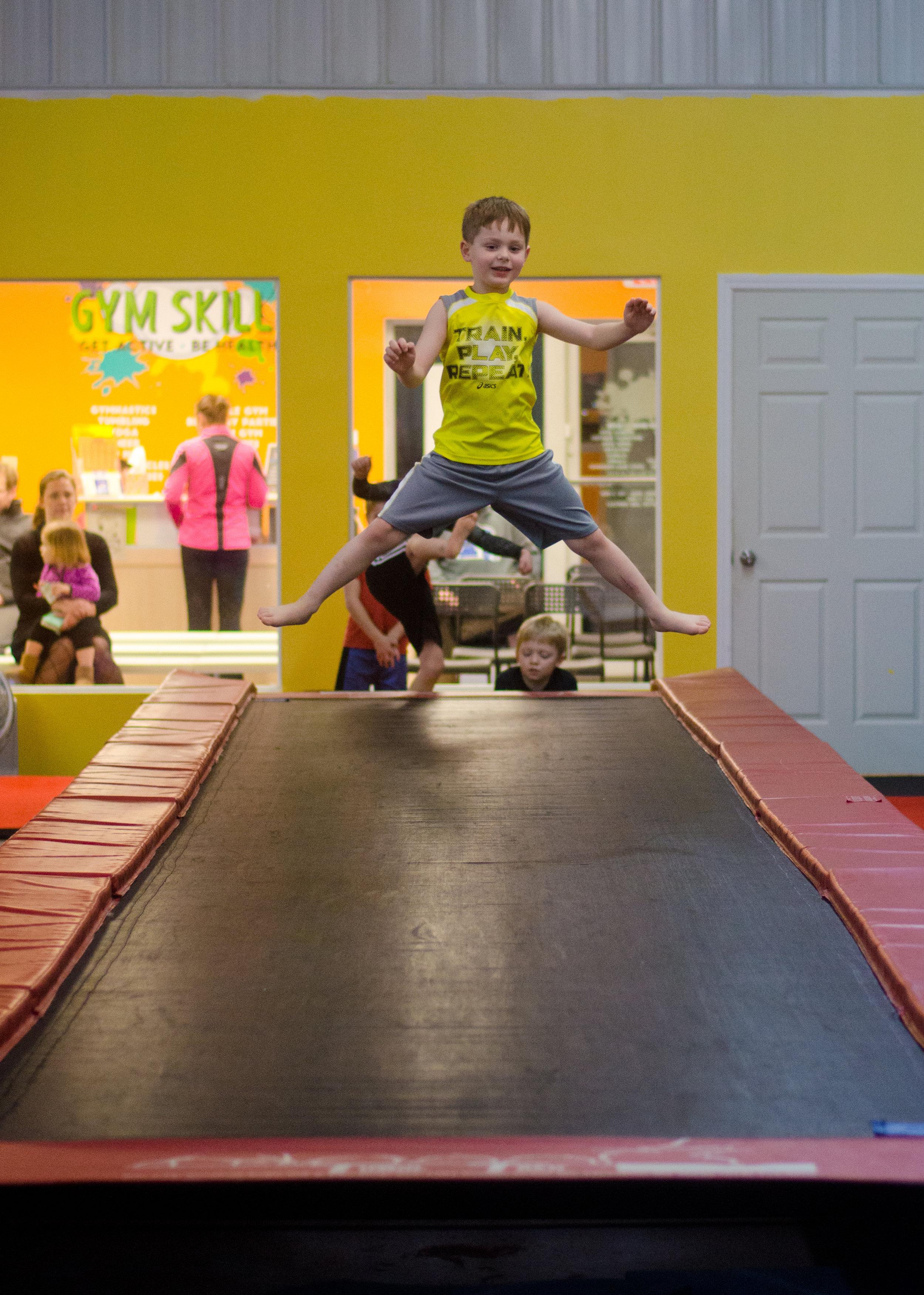 Bounce on our Tumble Trak!