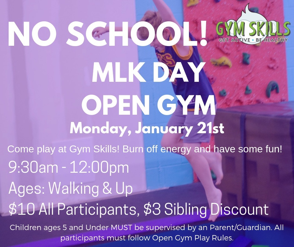 MLK DAY OPEN GYM
