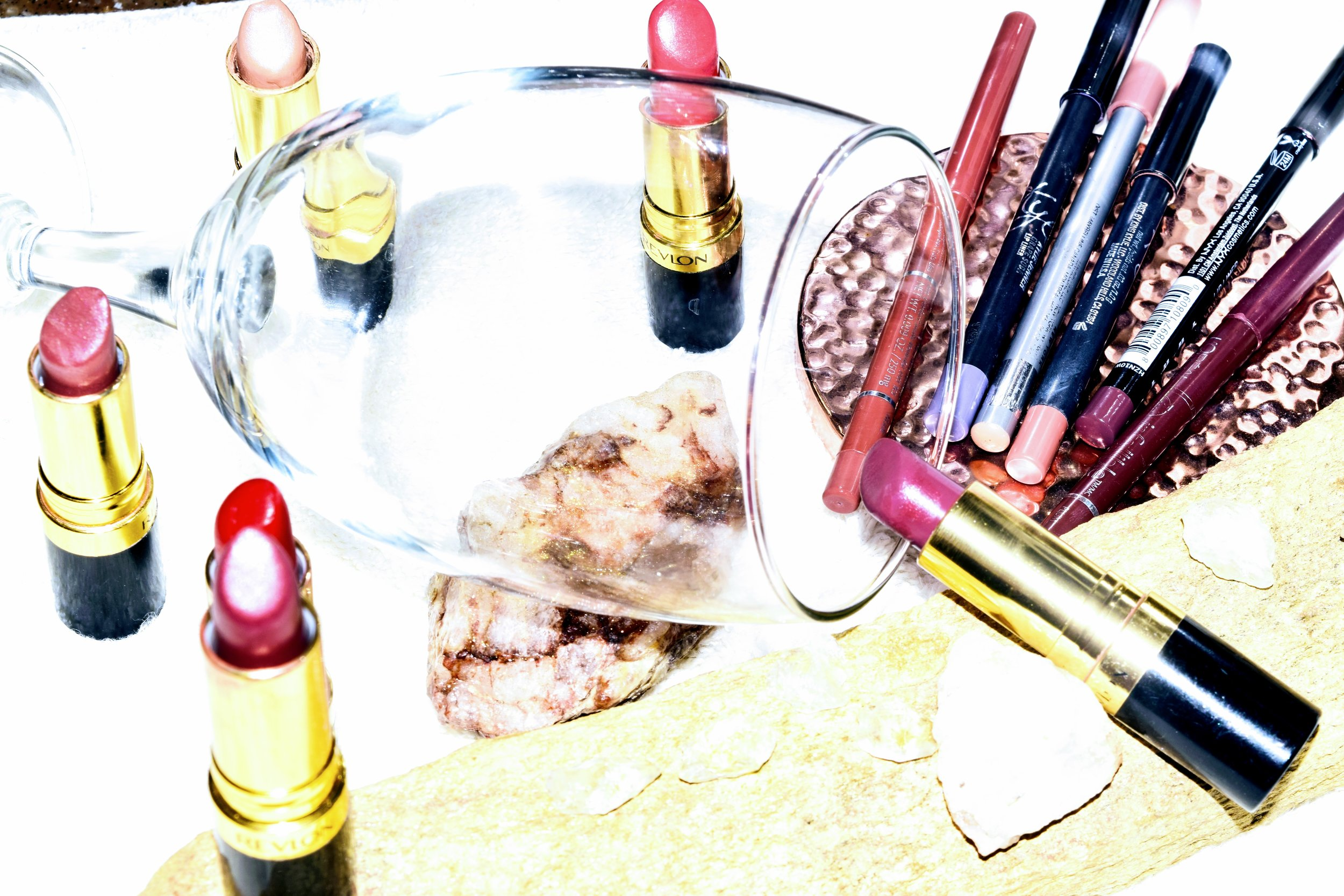 Drugstore Beauty - Drugstore finds like these lipsticks are perfect for mixing with other colors, or even applying a liquid metal