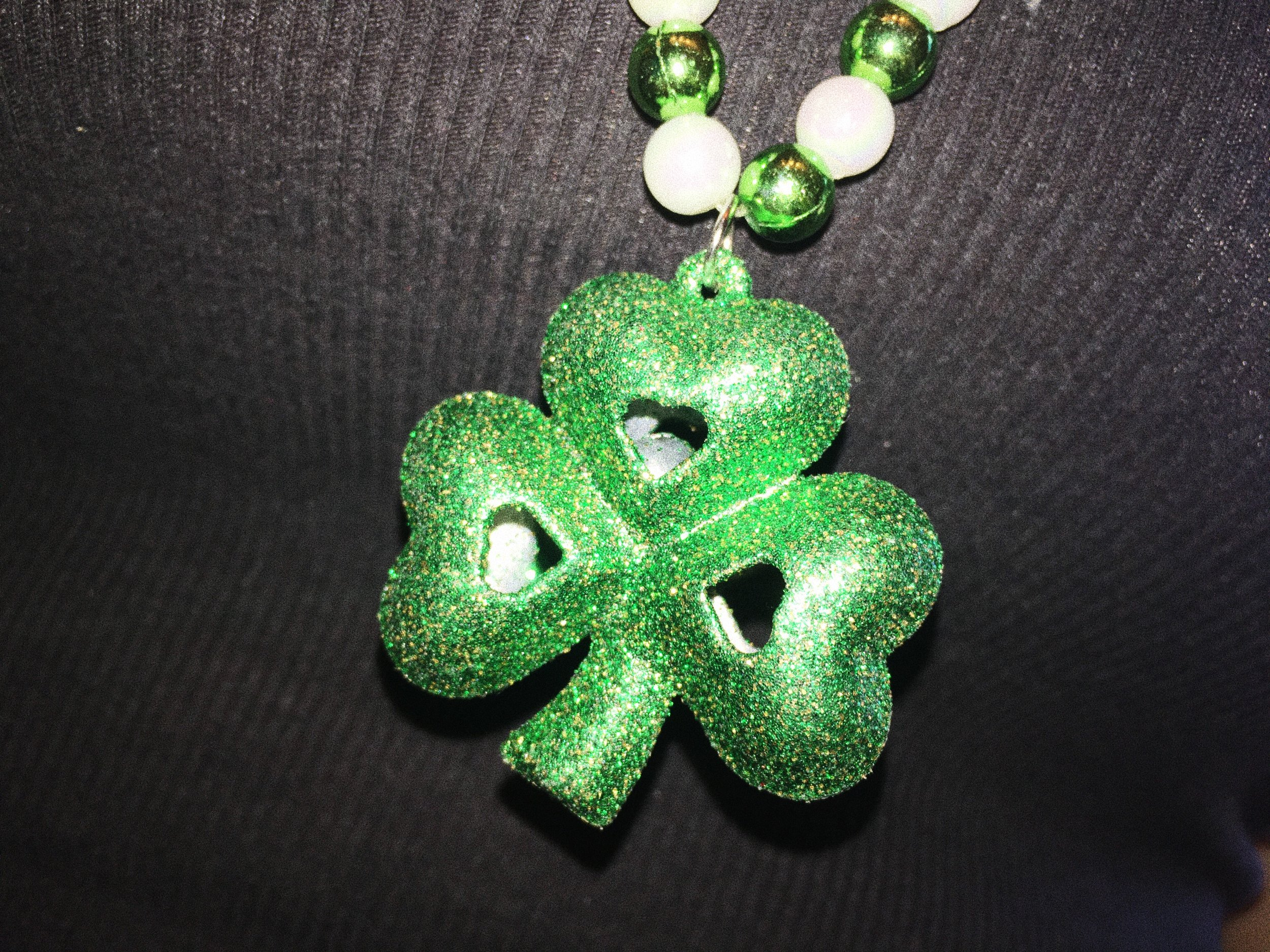 I love this cute little lucky charm necklace of mine!