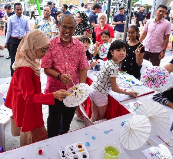 Tampines West CC Silver Jubilee  Open House