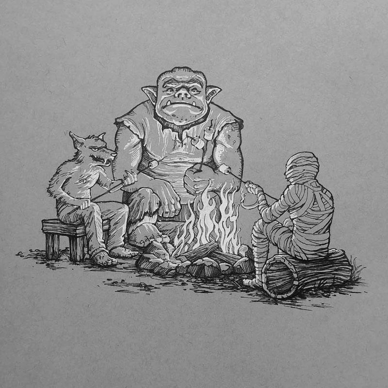 Inktober-2018-campfire-web.jpg