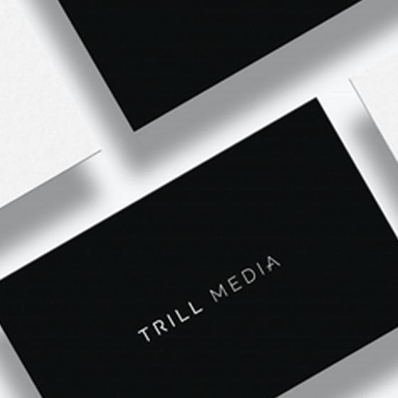 TRILL MEDIA - Single sentence describingproject